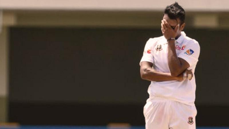 তৃতীয় দিনে বাংলাদেশ-ওয়েস্ট ইন্ডিজ টেস্ট !